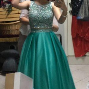 Dresses & Skirts - Jade color long dress small